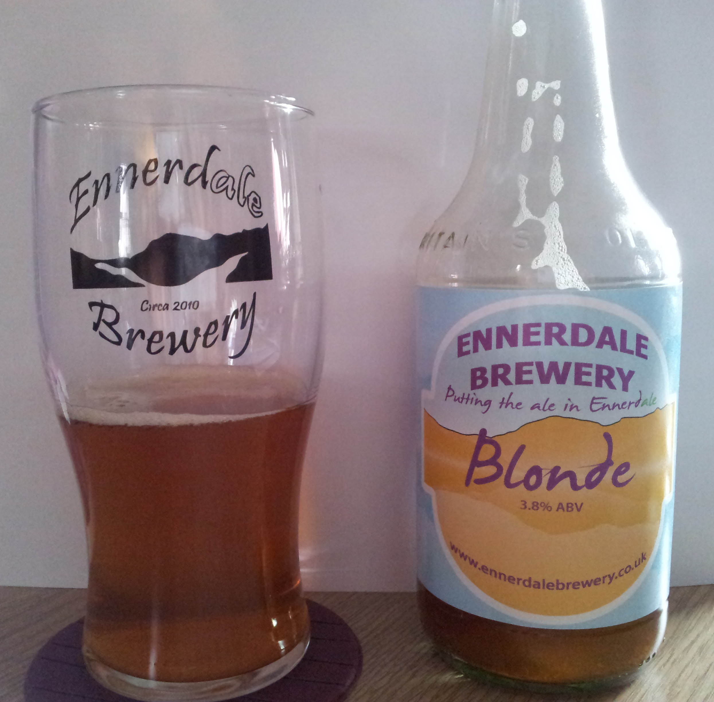 Bottled Blonde from Ennerdale Brewery