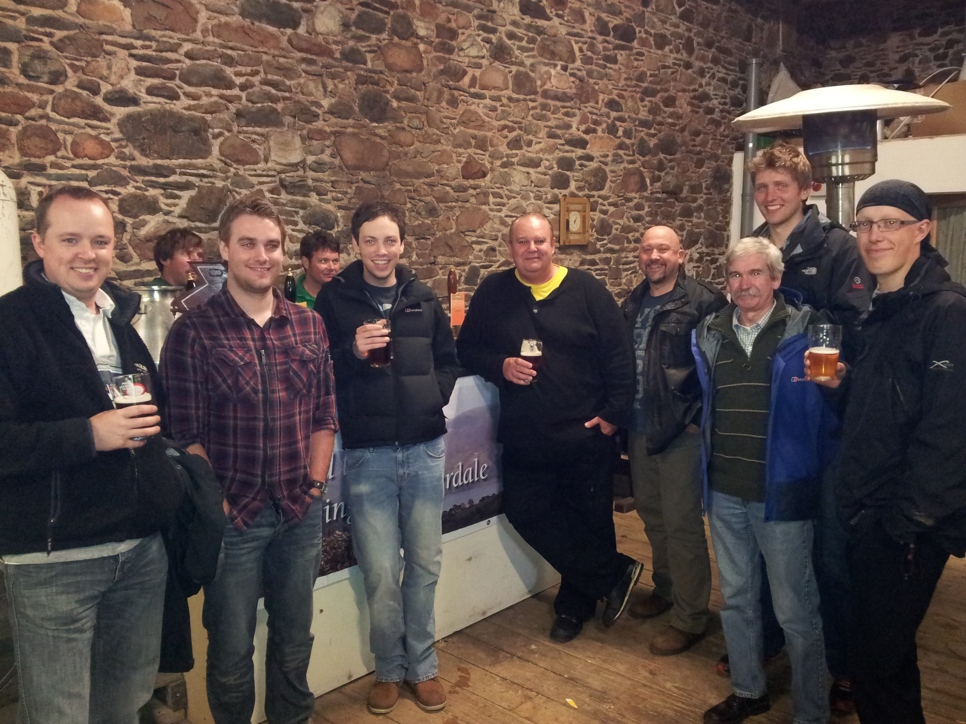 Brewery Tour Ennerdale Brewery Lake District Cumbria