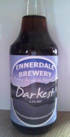 Darkest real ale from Ennerdale in a bottle