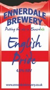 English Pride pump clip Ennerdale Brewery
