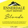Ennerdale Blonde Pump clip