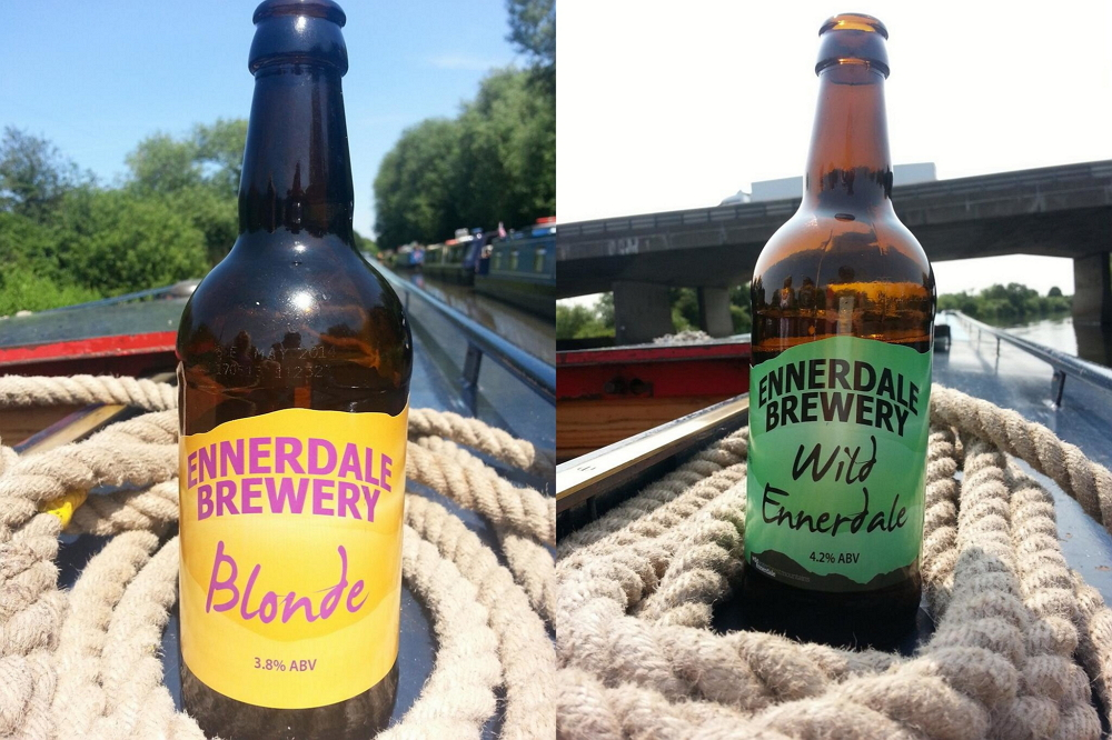 Cumbrian ale from Ennerdale Brewery on holiday