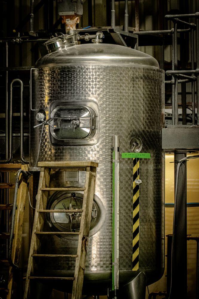 Beer Vat at Ennerdale Craft Brewery