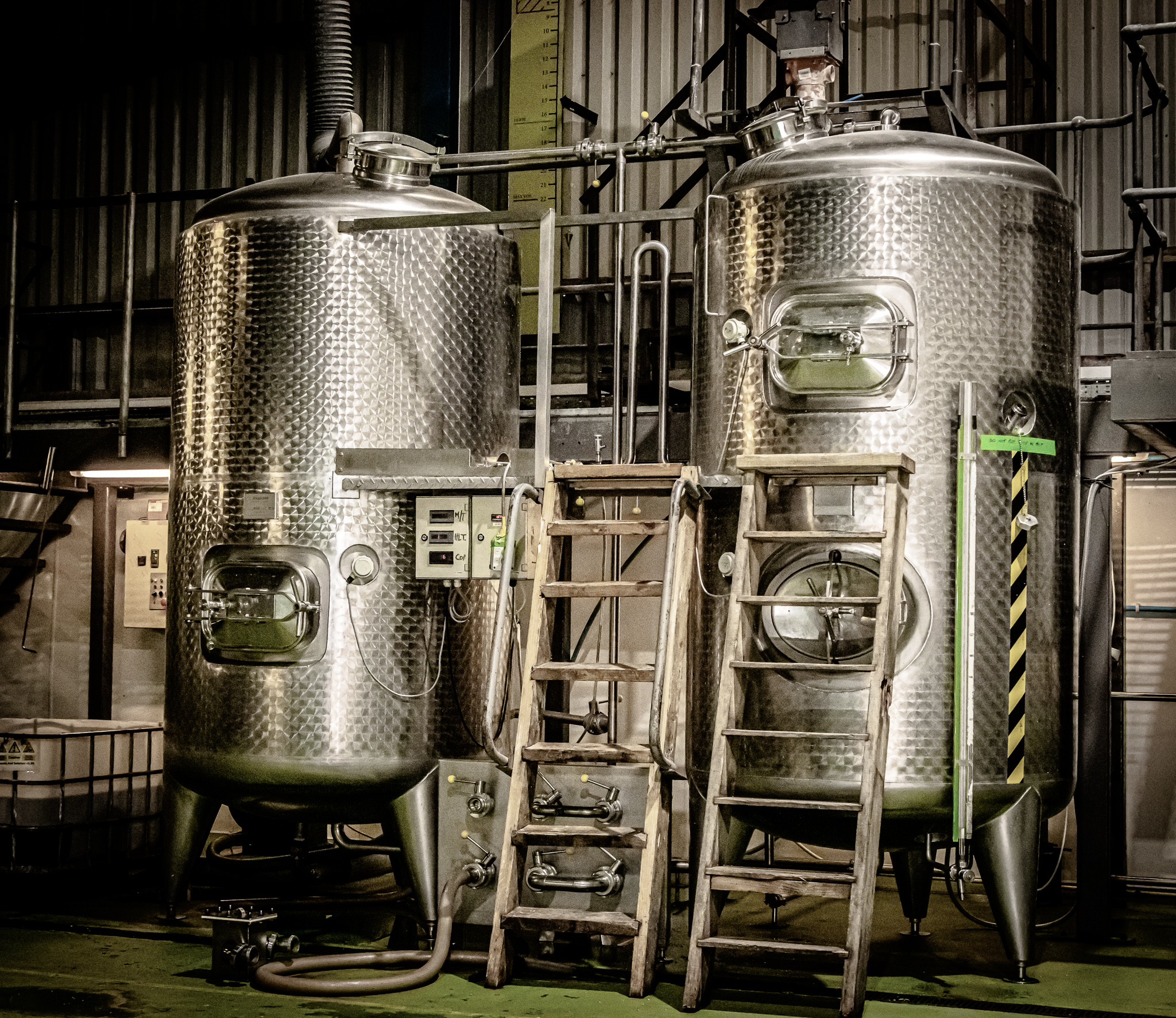 Machinery at Ennerdale Craft Brewery