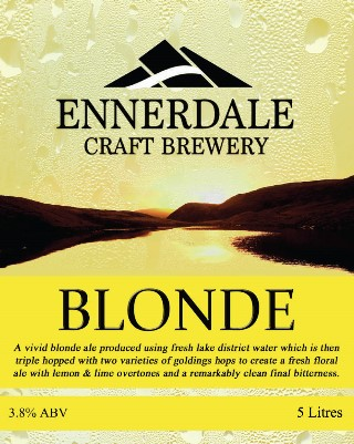 Ennerdale Brewery Blonde