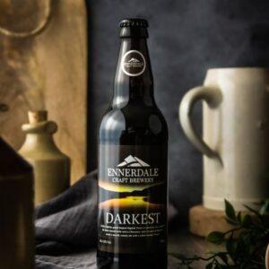 Bottle of Ennerdale Brewery Darkest