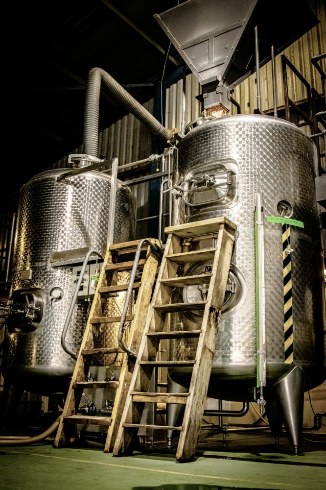 Vats at Ennerdale Brewery in the Lake District
