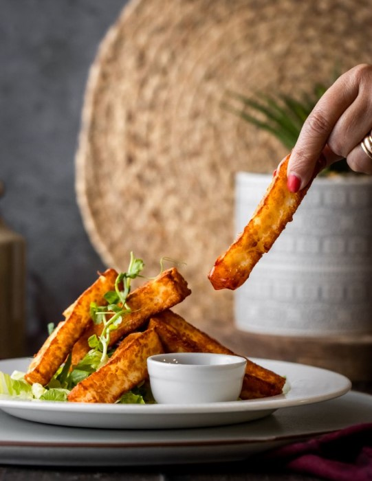 Halloumi Fries at Ennerdale Brewery