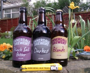 Ging Real Ale Trail review Ennerdale Brewery Bottled Beer